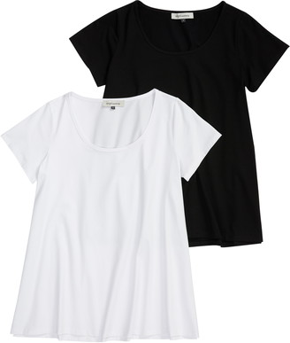 Angel Maternity Set of 2 Loose Maternity T-Shirts