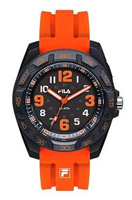 Fila Unisex Adult Analogue Quartz Watch with Silicone Strap FILA38-091-005
