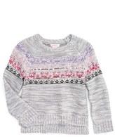 Design History Girl's Embellished Knit Sweater