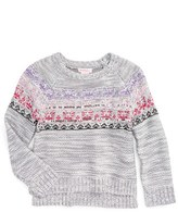 Design History Toddler Girl's Embellished Knit Sweater