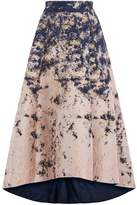 Coast Azure Marble Jacquard Skirt