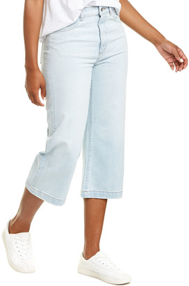 DL1961 Hepburn Cropped High-Rise Wide Leg