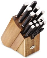 Anolon Japanese Stainless Steel 17-Pc. Knife Set