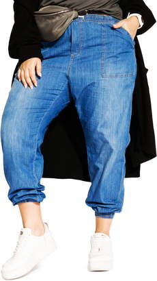 City Chic Jogger Jeans