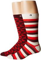 Scotch & Soda Classic Socks in Fun Pattern - 2-Pack
