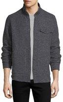 The Good Man Brand Twill Jacquard Knit Shirt Jacket