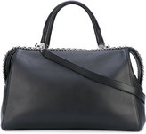 Max Mara large Boston bag - women - Cotton/Calf Leather - One Size