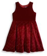 Andy & Evan Toddler's & Little Girl's Quilted Dress