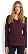 Eileen Fisher Modal & Cashmere Top