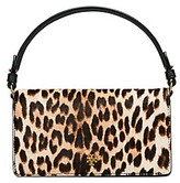 Tory Burch Cleo Calf Hair Fold-Over Clutch