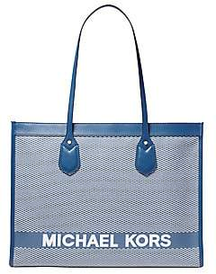 MICHAEL Michael Kors Women's Large Bay Canvas Tote