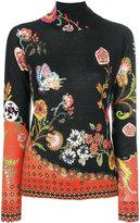 Etro floral paisley jumper