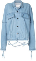 Strateas Carlucci oversized denim jacket
