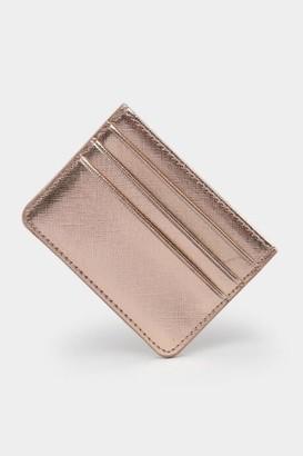 francesca's Kelly Card Case - Rose/Gold