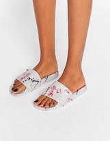 Ted Baker Armeana Oriental Blossom Slider Flat Sandals