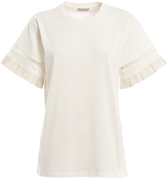 Moncler Cut Out Logo T-Shirt