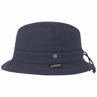 Lierys Gore-Tex Light Rain Hat by Women - Made in The EU Windproof Rainproof Weatherproof with Lining Spring-Summer - S (54-55 cm) Navy