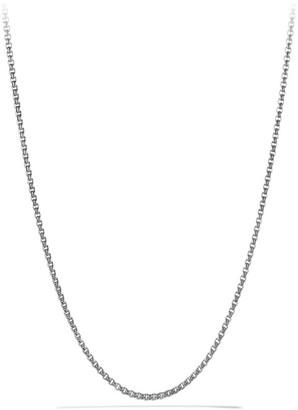 David Yurman Knife Edge Box Chain Necklace