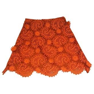House of Holland Orange Skirt for Women