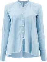 Greg Lauren classic fitted blouse