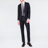 Paul Smith Men's Tailored-Fit Navy Wool 'Suit To Travel in'