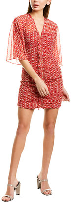 Stevie May Sunny Afternoon Ruched Mini Dress
