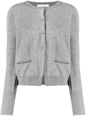 Fabiana Filippi Long-Sleeved Knitted Cardigan