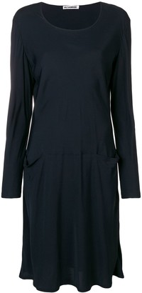 Jil Sander Pre Owned 1990'S sweater dress