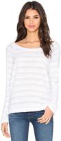 Bella Luxx Stripe Oversized Pullover