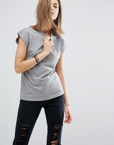 Noisy May High Neck T-Shirt