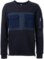 General Idea front pockets sweatshirt - men - Cotton/Polyester - 48