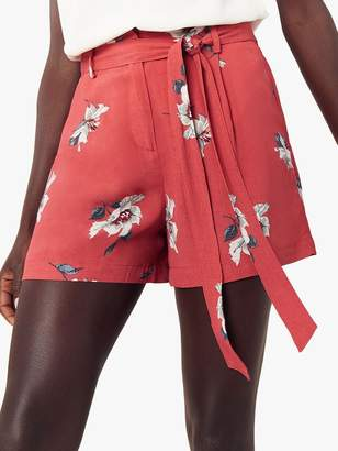 Oasis Ruby Floral Shorts, Pink/Multi