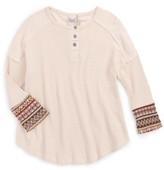 Girl's For All Seasons Fairisle Thermal Shirt