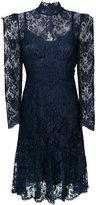 Dolce & Gabbana high neck lace dress