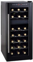 Sunpentown 21 Bottle Dual Zone Freestanding Wine Refrigerator