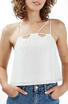 Topshop Women's Strappy Crop Camisole