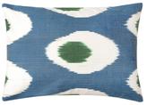 Found Object Hand-Woven Ikat Pillow