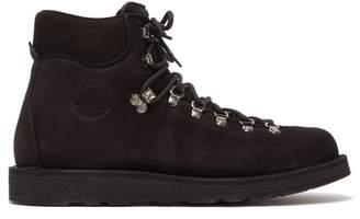 Diemme Roccia Vet Tread Sole Aqua Nubuck Hiking Boots - Mens - Black
