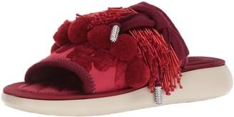 Marc Jacobs Women's Emerson Pompom Sport Sandal Slide