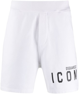 DSQUARED2 Icon logo-print track shorts