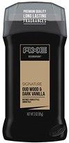 Axe Signature Deodorant Stick for Men, Oud Wood and Dark Vanilla 3 oz