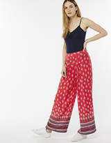 Rachel Border Print Trousers