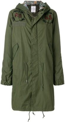 As65 Embellished Parka Coat