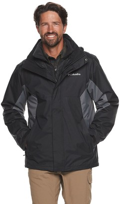 Columbia Big & Tall Interchange Outerwear Jacket