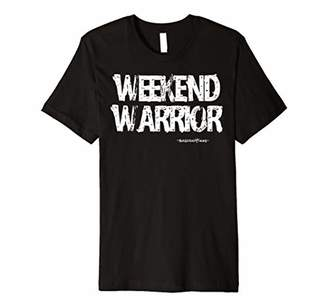IDEA WEEKEND WARRIOR - Basic Funny Golf Gift T-Shirt