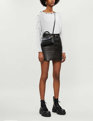 AllSaints Elle button-down cotton jumper