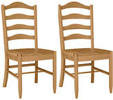John Lewis Audley Dining Chairs, Set of Two
