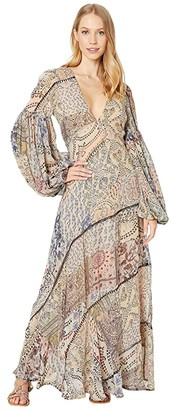 Free People Moroccan Dream Maxi (Multi) Women's Clothing