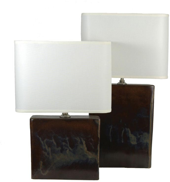Alex Marshall Studios Rectangle Lamp