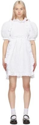 Cecilie Bahnsen White Lotta Dress